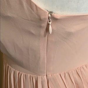 Lovers + Friends Dresses - NWT Lovers + Friends Pink Tara Mini Babydoll Dress